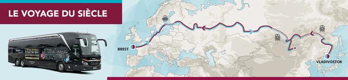 Un voyage pour 2020 çà s'imagine ! De VLADIVOSTOK à BREST