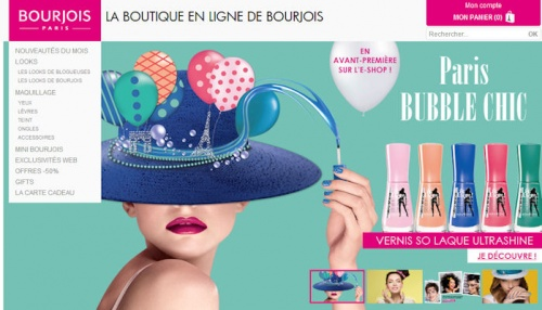 E boutique Bourjois