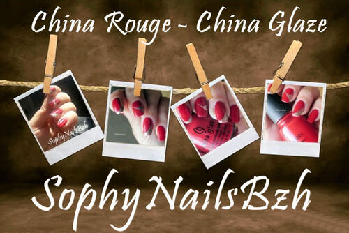 China Rouge - China Glaze