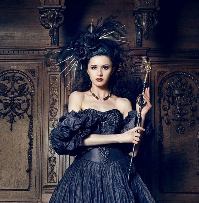 Viona Ielegems, photographe et modèle goth