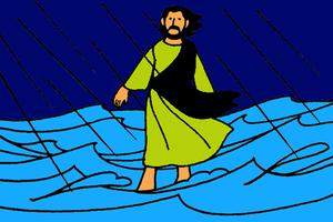 10_Jésus marche sur l'eau
