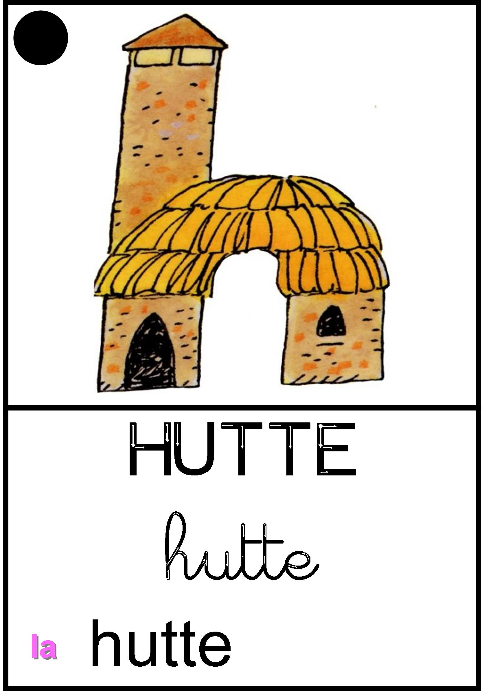 Affichage La hutte