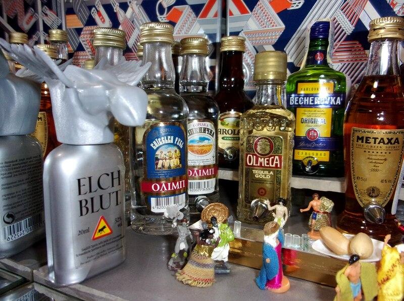 Aujourd'hui : encore des images trop riches en sucre et même en alcool !