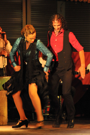 Séville, soirée flamenco