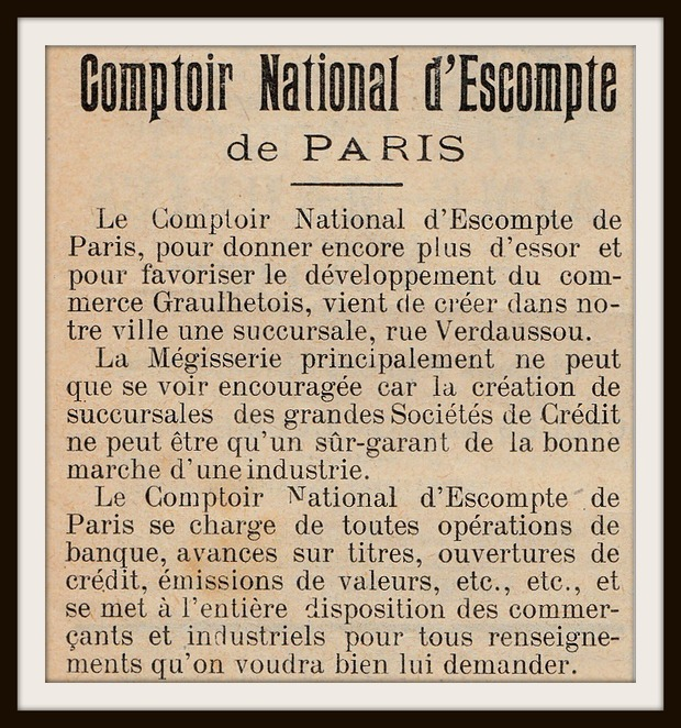 - Comptoir National d'Escompte