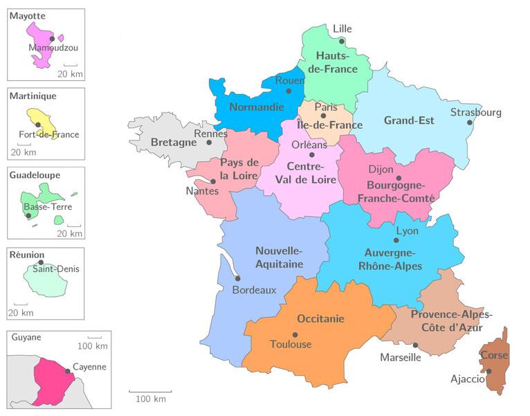 Calendrier de l'Avent : les monuments de France