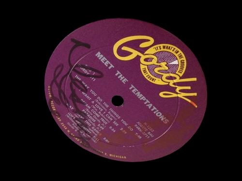 "The Temptations : Album "" Meet The Temptations "" Gordy Records G 911  [ US ]"