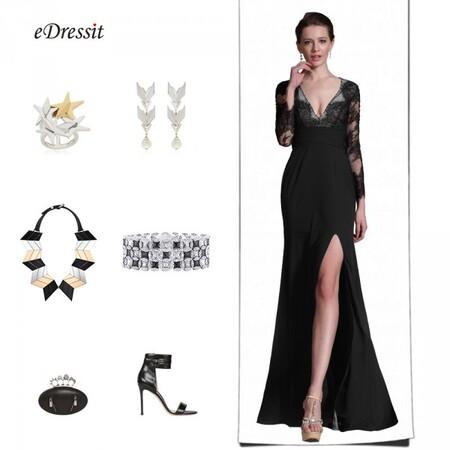 Quelle robe de soiree pour petite poitrine