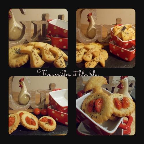 Recette de biscuits apéritifs