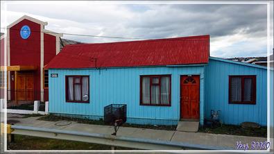 Un peu d'architecture de Puerto Natales - Patagonie - Chili