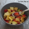 fruits au sirop cannelle romarin