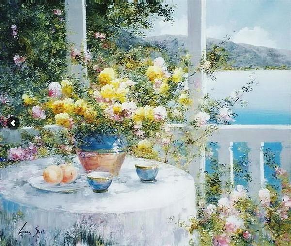 Peinture de : Lucia Sarto