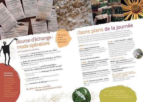 Bourse aux graines au Battement d'Ailes à Cornil