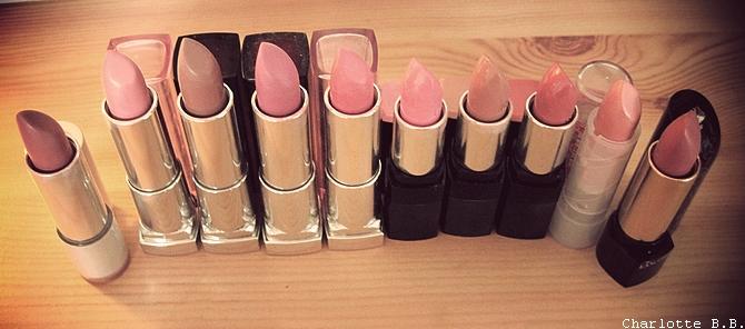 Le défi du lundi : Lipstick mania !