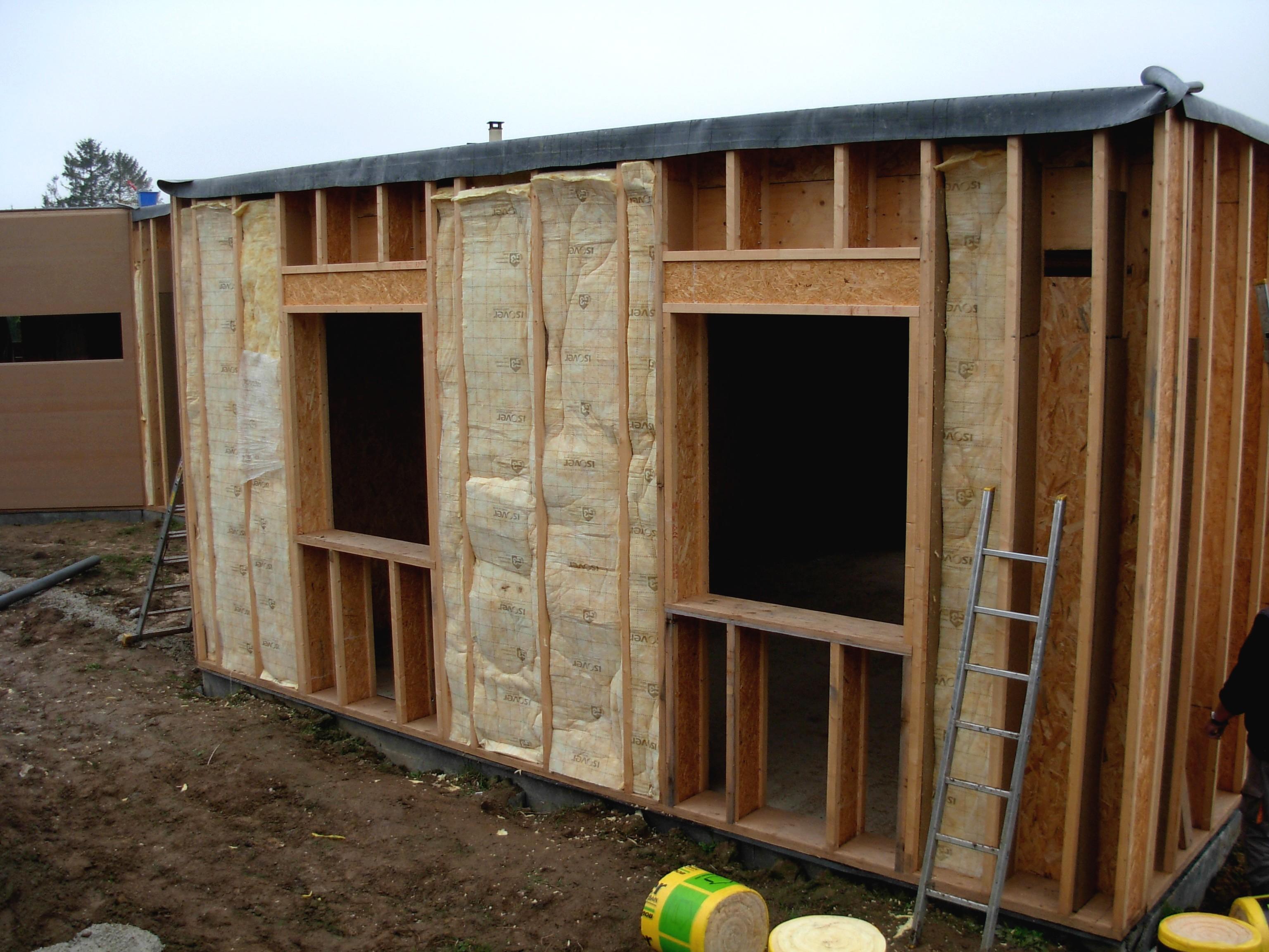 Isolation d 39 une maison passive ossature bois lescormeillaises - Maison passive en bois ...