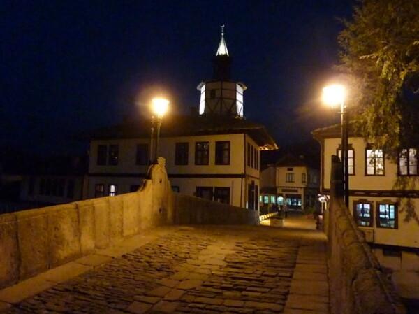 Jour 11 - Triavna - La tour de l'horloge le soir