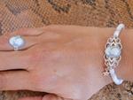 Bracelet camée dame