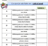 Calculs CE2