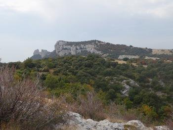 Le Plan des V... et les dents de Roqueforcade depuis les environs du col de Bertagne