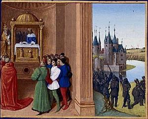 Robert II le Pieux à Rome