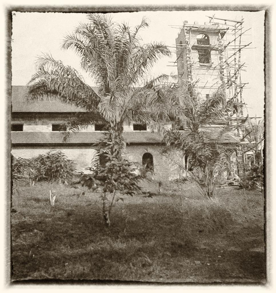 Le temple de Ngômô