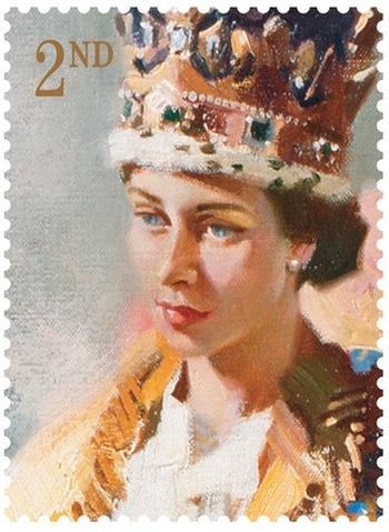 Elizabeth II (study coronation 1953)