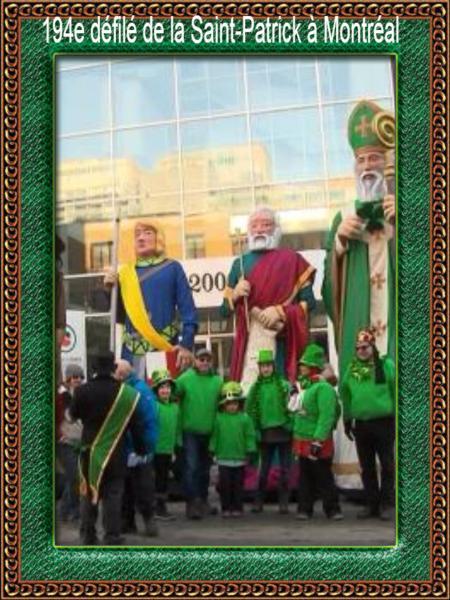 194e défilé de la Saint-Patrick à Montréal