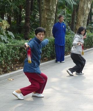 Chorégraphie martiale