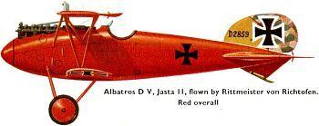 Albatros de von Richthofen