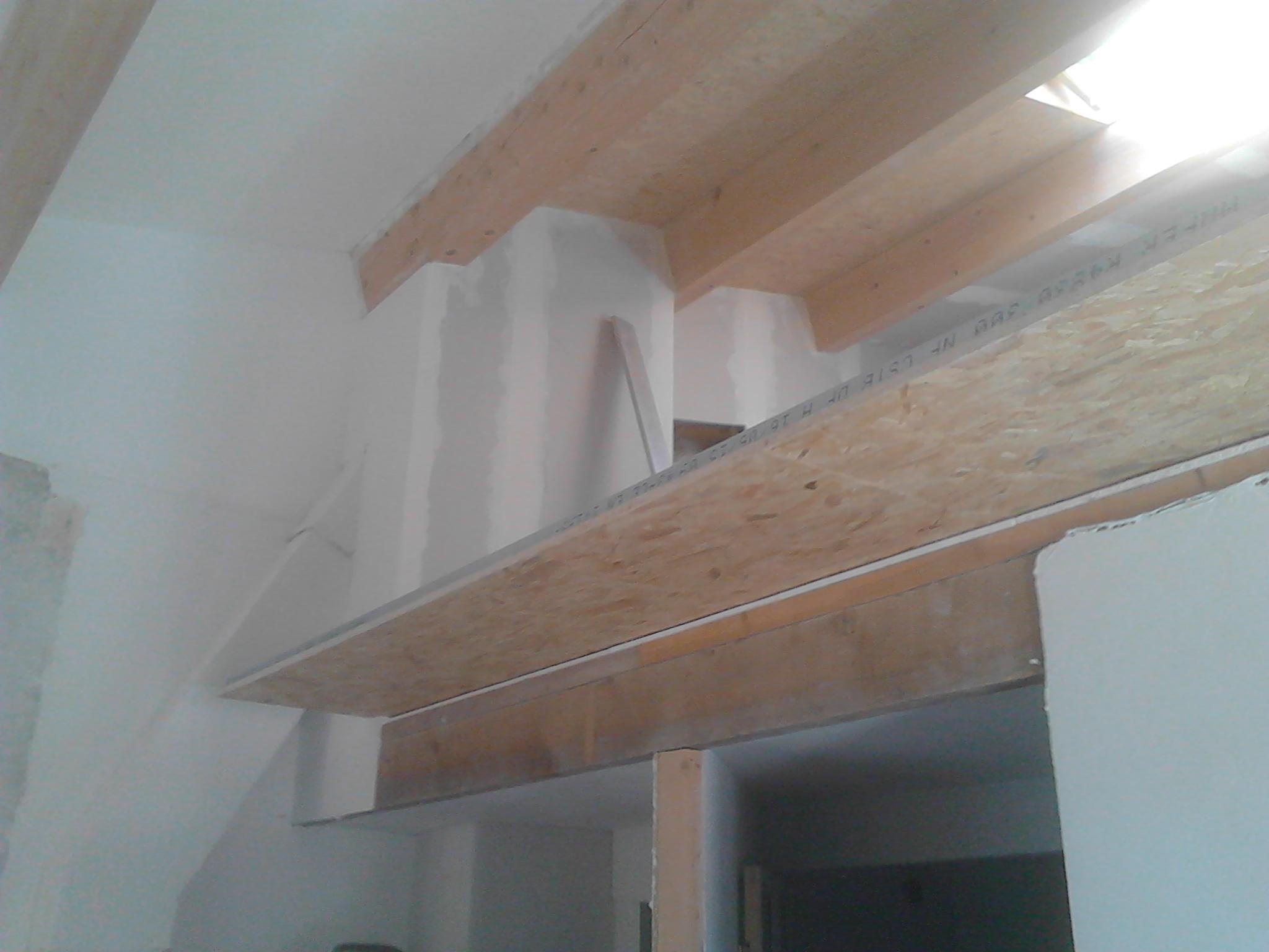 Séparation entre mezzanine et chambre - casavignon