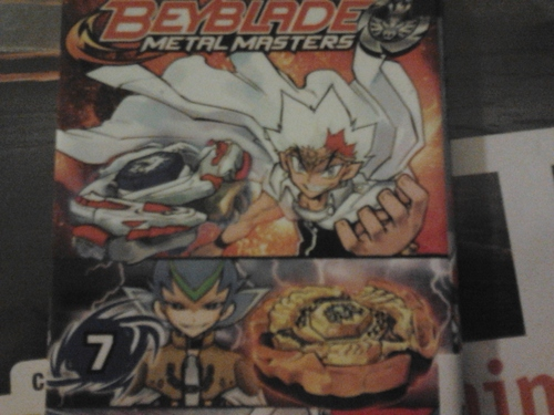Fanfiction 03: Beyblade