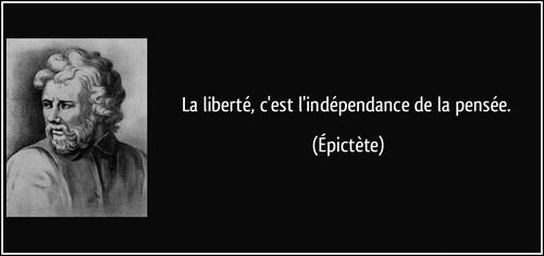 Citations sur la Liberté de Penser