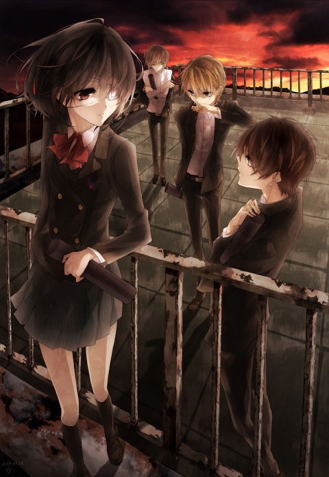 Image de another, anime, and manga