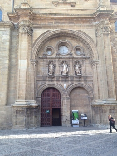 Église Santo domino de la Calzada a Najera