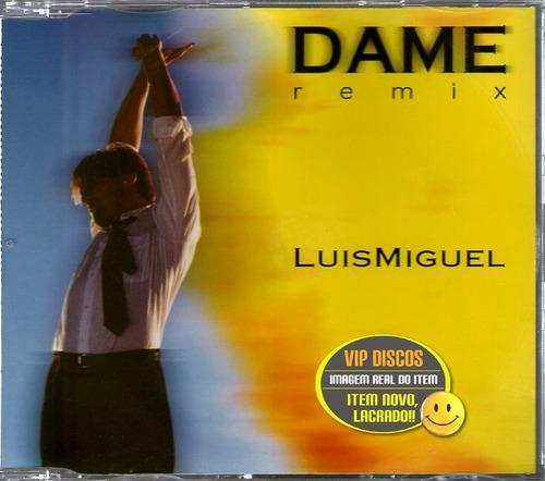 MIGUEL, Luis - Dame (1996)  (Chansons esagnoles)