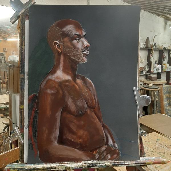 Dimanche - Portrait d'homme  (suite)