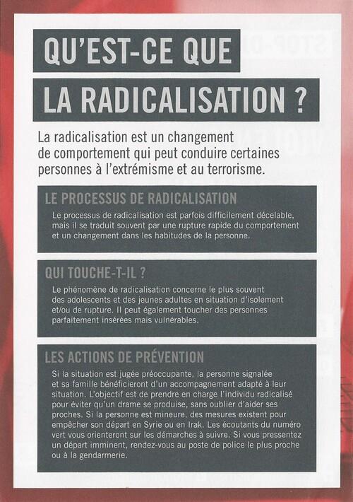 Lutte radicalisation