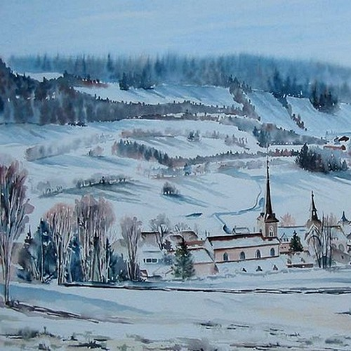 Paysages Hiver