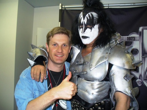 Phil et Gene Simmons