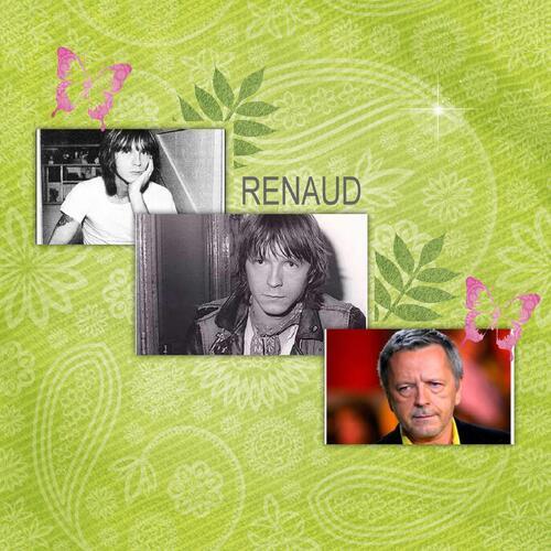 Renaud le chanteur que j'aime ces chanson