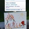 Toile colérique