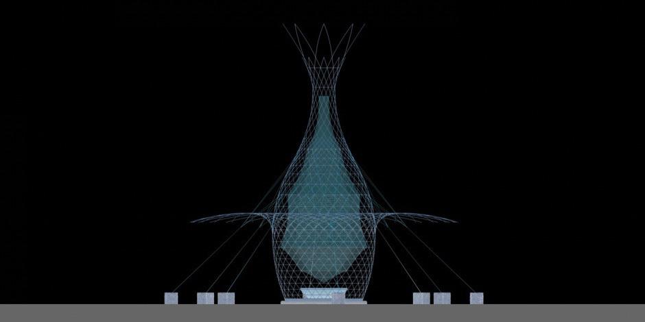 LES TOURS WARKA  D'ARTTURO VITTORI, L'EAU DES NUAGES POUR 500 EUROS