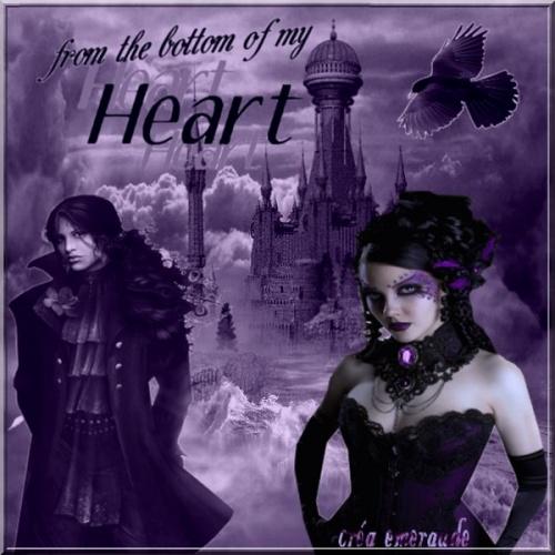 Défi du lundi 30 janvier 2012 ( Thème gothique )