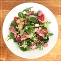 salade au magret de canard mariné