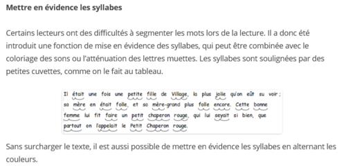 Logiciel utile: LireCouleur