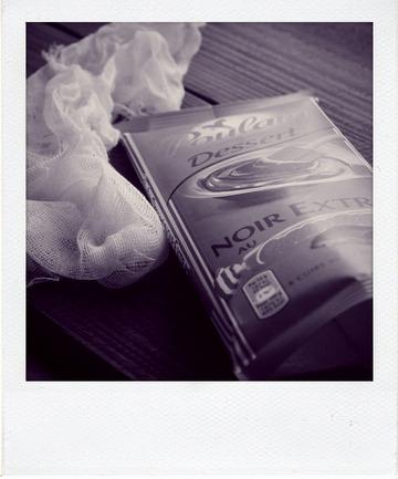 Fondant mousseux mascarpone et chocolat Carambar®