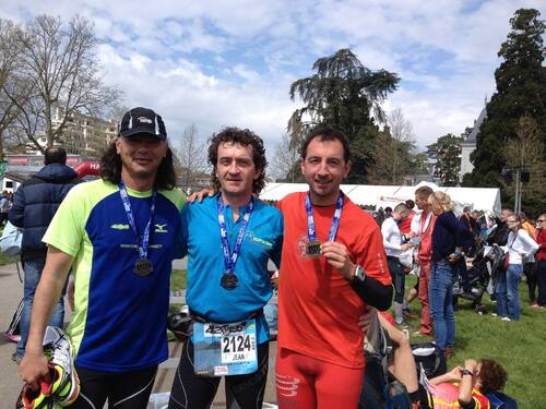 - Marathon International du Lac d'ANNECY le 19/04/2015
