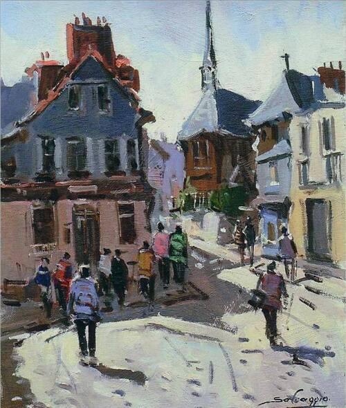 Peintures de Honfleur