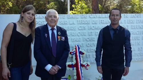 * Cérémonie du 73è anniversaire du Débarquement de la 1ère DFL en Provence