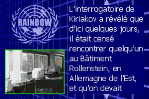 Rainbow Six Rogue Spear #9 Pont Renforcé
